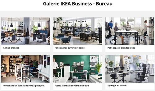 Ikea propose des inspirations pour les professionnels